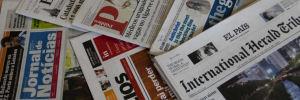 Capas dos Jornais e Revistas